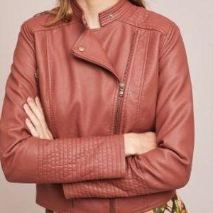 ett:twa Vegan Leather Moto Jacket